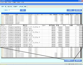 商品データの登録